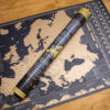 Scratch Map of Europe - map and gift tube