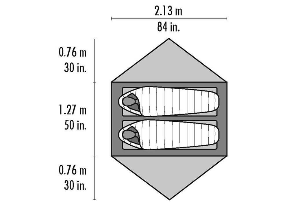 MSR Hubba NX 2