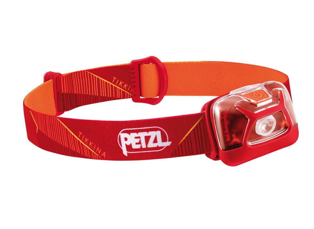 Petzl TIKKINA 2019 red