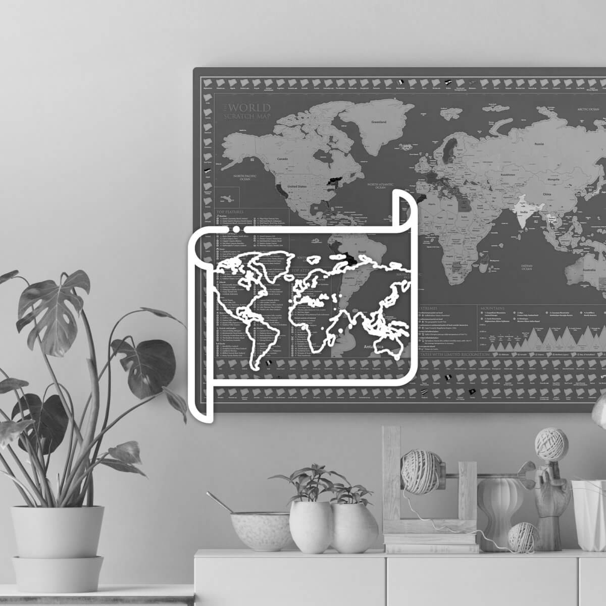 Wall Maps & Decor