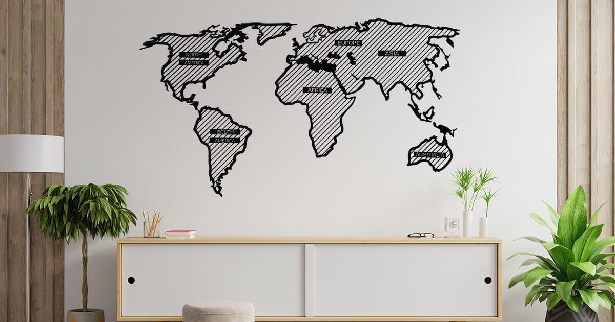 Adventurer Line wooden map