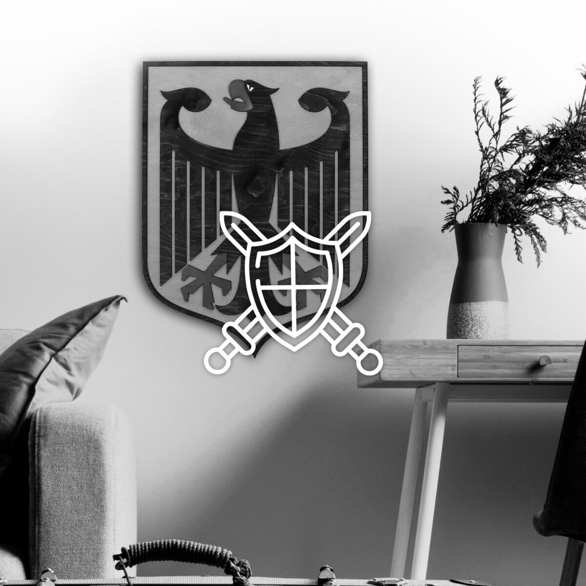 Wooden Coat of Arms