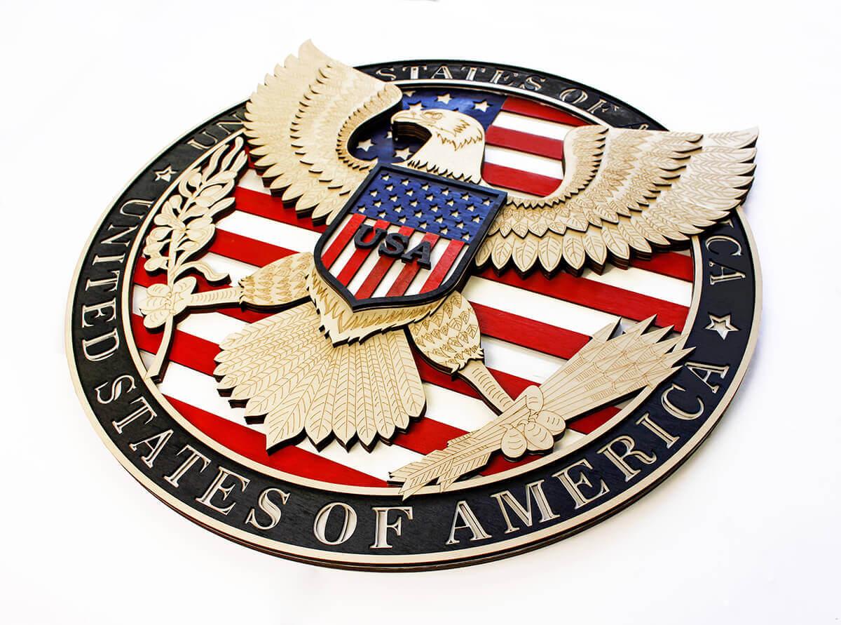 USA Eagle Symbol