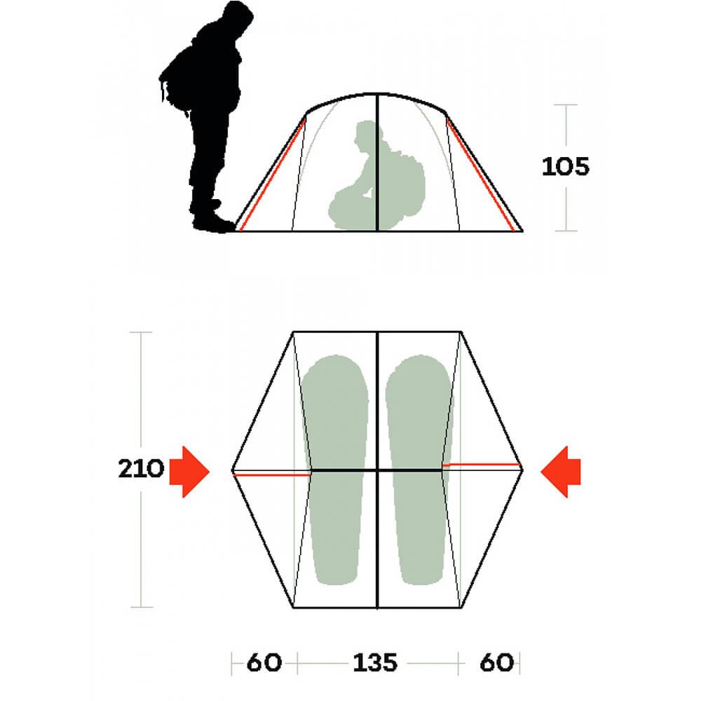 Ferrino Grit 2-sizes