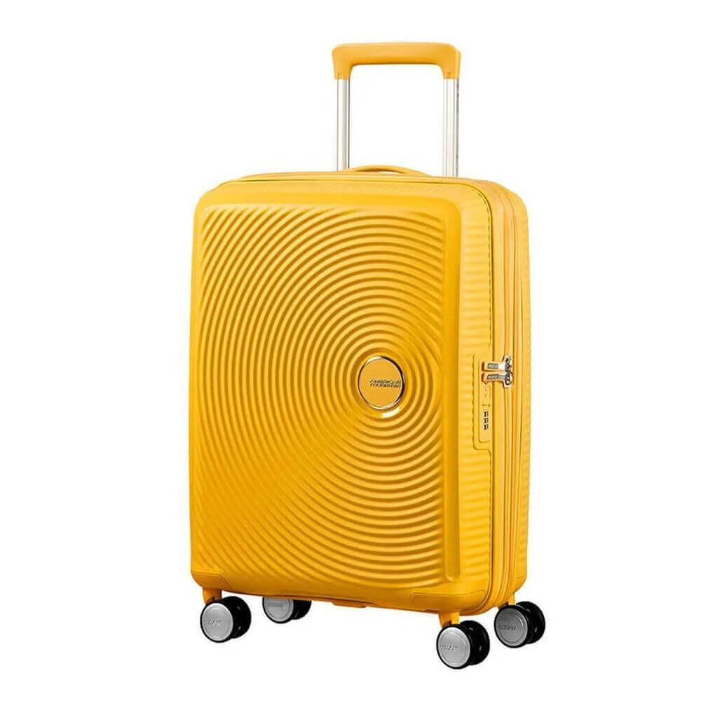American Tourister Soundbox Spinner-55-yellow