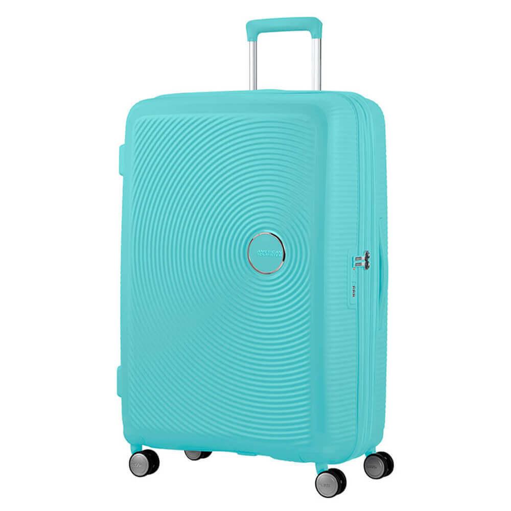 American Tourister Soundbox Spinner-77-poolside-blue
